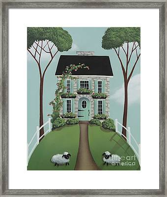 Brambleberry Cottage Framed Print by Catherine Holman