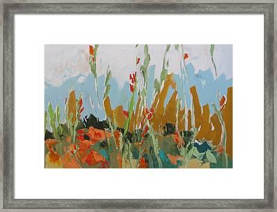 Brambles Framed Print