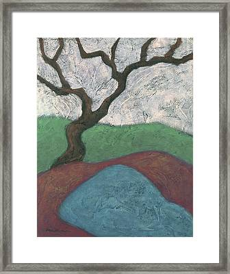 Branches And Water Framed Print