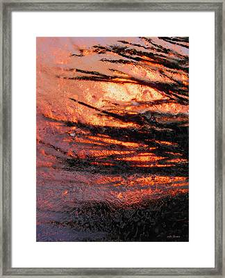 Framed Print featuring the photograph Branches Of Light by Sami Tiainen