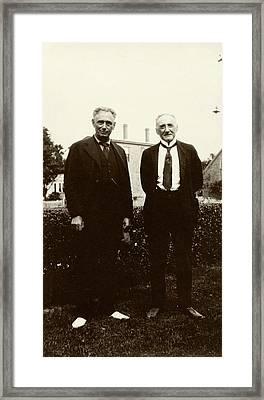 Brandeis And Loeb Framed Print