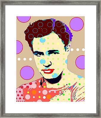 Brando Framed Print by Ricky Sencion