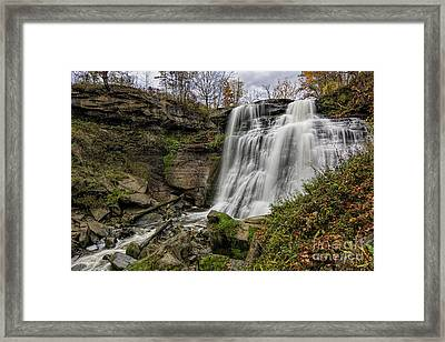 Brandywine Falls Framed Print by James Dean