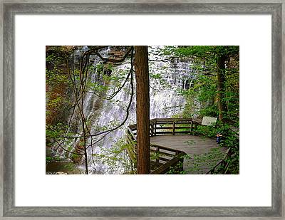 Brandywine Falls Framed Print by Frozen in Time Fine Art Photography