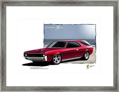 Brandywine Xpress Framed Print