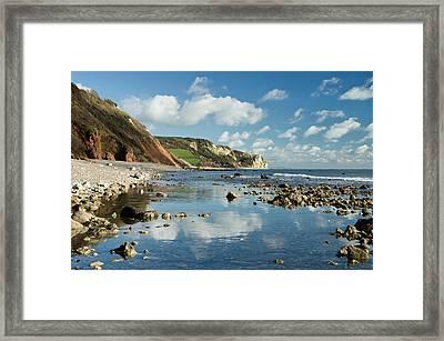 Branscombe Ebb Framed Print