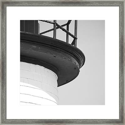 Brant Point Lighthouse Framed Print by Charles Harden
