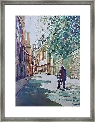Brasenose Lane Framed Print by Jenny Armitage