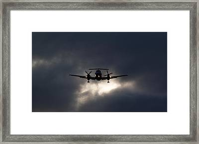 Brasilia Breakout Framed Print by John Daly
