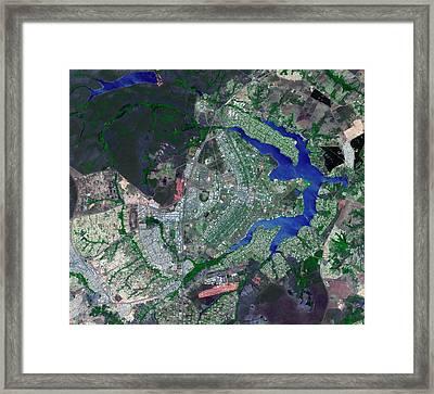 Brasilia Framed Print