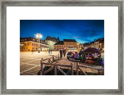 Brasov Romania Framed Print by Iacob Danny