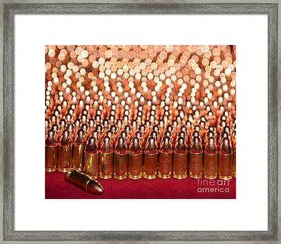 Brass Army Framed Print