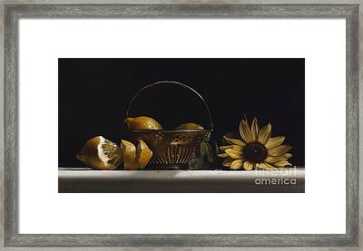 Brass Basket No.2 Framed Print