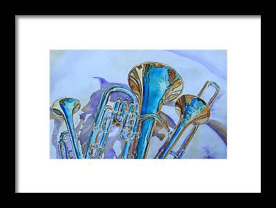 Cool Jazz Framed Prints