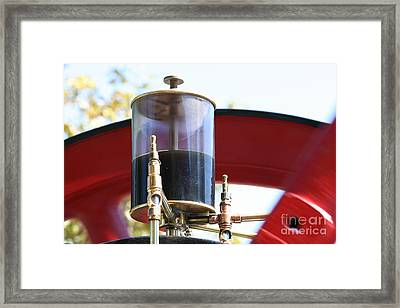 Brass Love Framed Print by Laura Paine