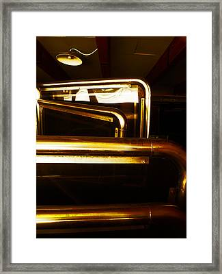 Brassed Off  Framed Print