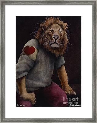 Braveheart... Framed Print by Will Bullas