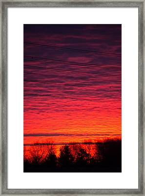 Brawner Farm Framed Print