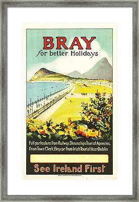 Bray Ireland Framed Print