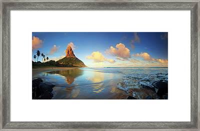 Brazil, Fernando De Noronha Island Framed Print by Michele Falzone