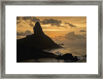 Brazil, Pernambuco, View Of Morro Framed Print by Dosfotos