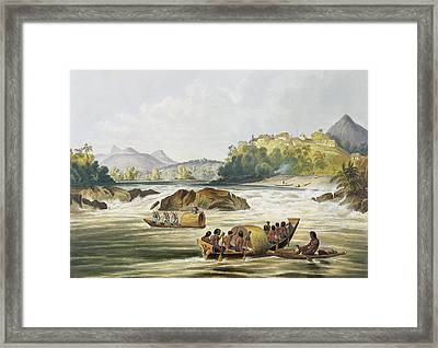 Brazilian Fort St. Gabriel On The Rio Framed Print