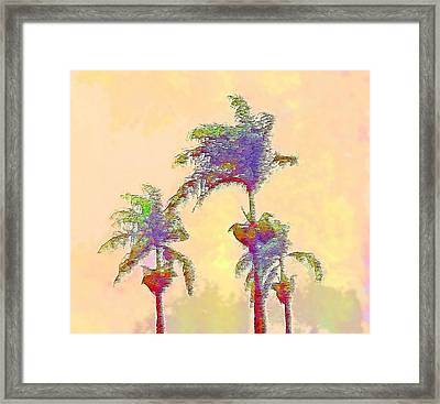 Brazilian Monsoon Framed Print by Steve Ohlsen