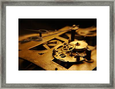 Framed Print featuring the photograph Breach Of Time by Jon Emery