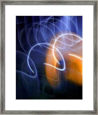 Breach Of Time Framed Print by Lynda Lehmann