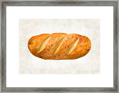 Bread Loaf  Framed Print