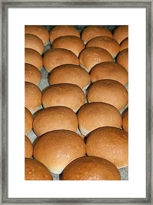 Bread (panini), Italian Cooking, Italy Framed Print