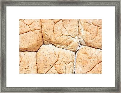 Bread Rolls Framed Print by Tom Gowanlock