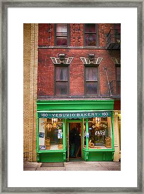 Bread Store New York City Framed Print
