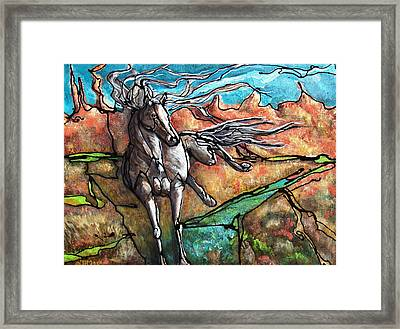 Break Free Framed Print