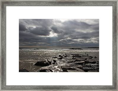 Break In The Clouds Framed Print by Tom Gari Gallery-Three-Photography