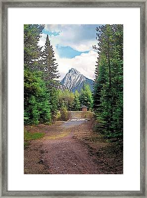Break In The Weather Framed Print by Terry Reynoldson