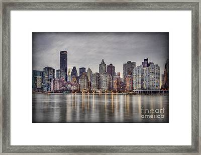 Break Into Darkness Framed Print