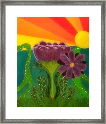 Break Of Day Framed Print by Rachel Donnelly