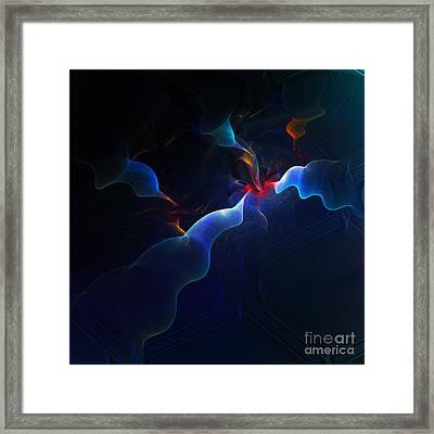 Break-out Framed Print by Klara Acel