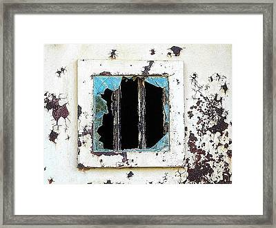 Break Out Framed Print by Patricia Greer
