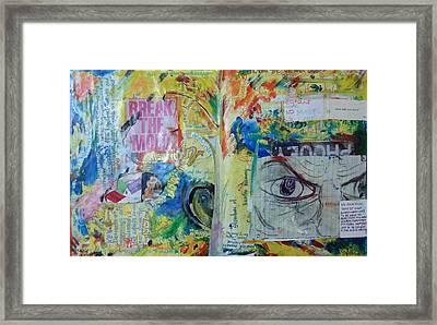 Break The Mold  Framed Print