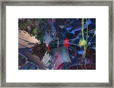 Break Through Framed Print by Roger Pearce