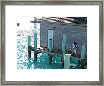 Break Time Framed Print