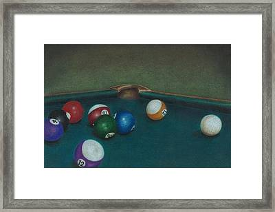 Break Framed Print by Troy Levesque