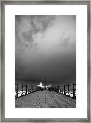 Breaker Framed Print by Kris Dutson