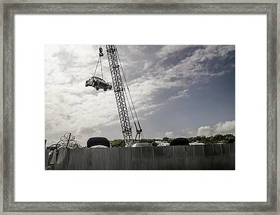 Breakers Yard Framed Print