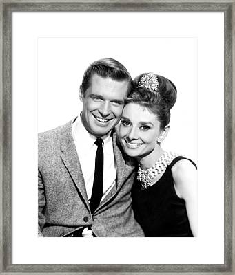Breakfast At Tiffany's  Framed Print by Silver Screen