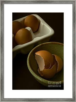Breakfast Framed Print by Edward Fielding