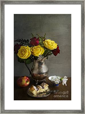 Breakfast Framed Print by Elena Nosyreva