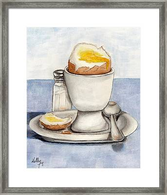 Breakfast Is Ready Framed Print